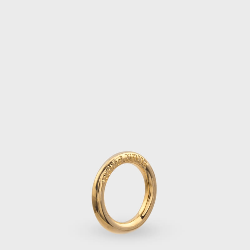[NONENON] CIRCLE RING (GOLD)