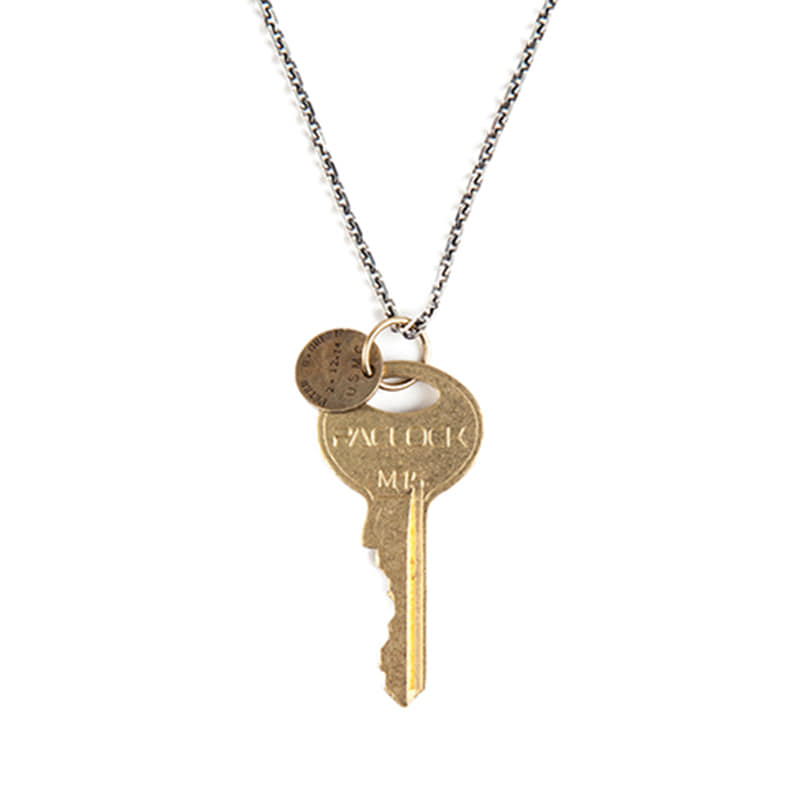 [AGINGCCC] 164# CHICAGO KEY NECKLACE