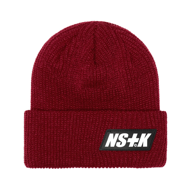 [NSTK] LIKE FURY BEANIE (BURGUNDY)