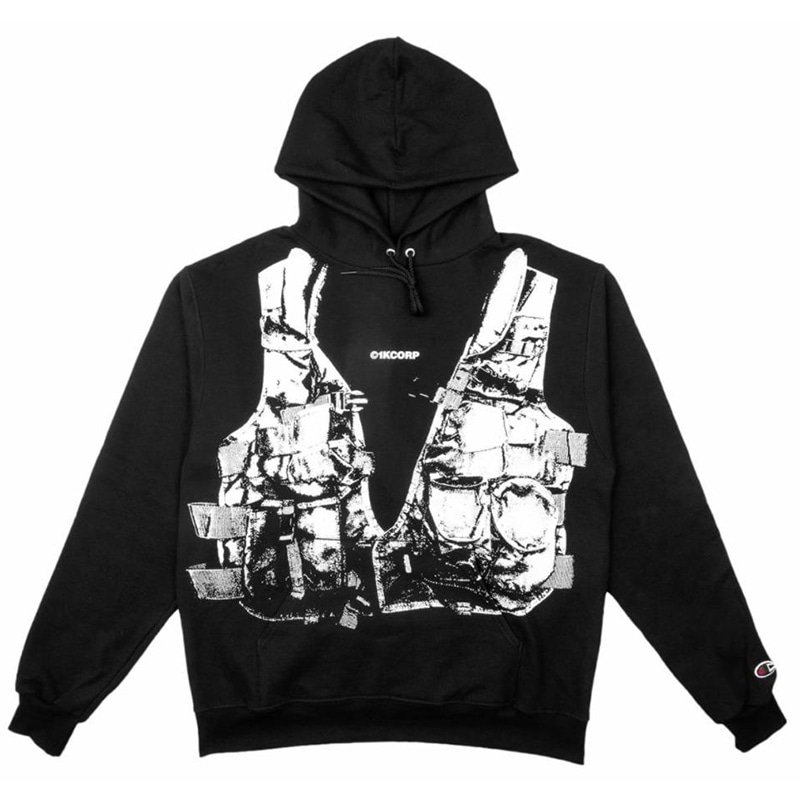 [쿠드그라스 연말 FINAL SALE] [1KCORP] OPERATOR HOOD (BLACK)