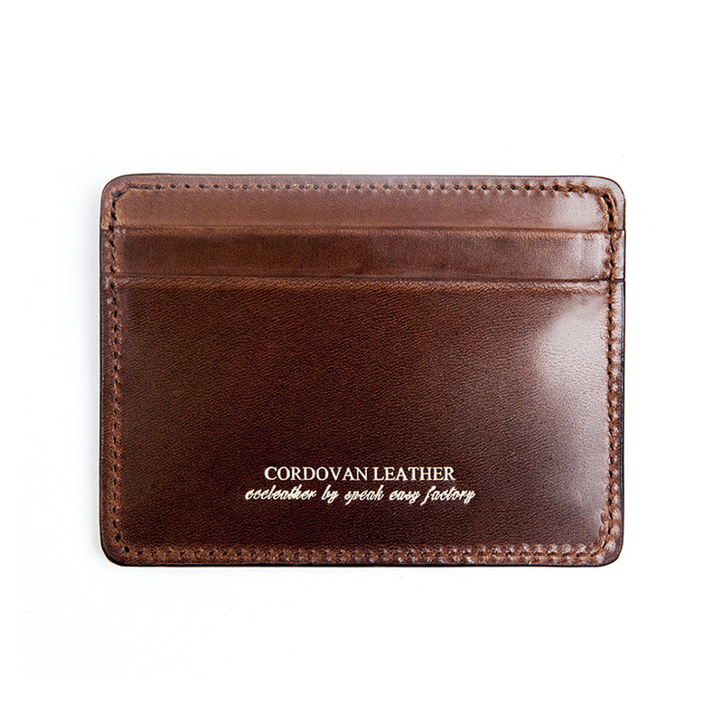 [AGINGCCC] 211# RIGID CORDOVAN X CARD WALLET