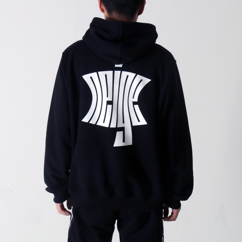 [$ SHOP SALE] [NEIGE] LOGO HOODIE BLACK
