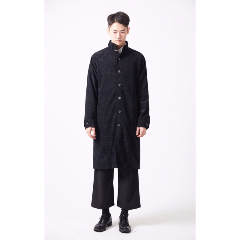 [DE LUCE] WATER SUEDE LONG COAT