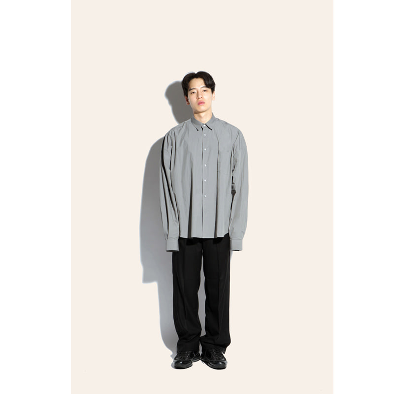 [FIAR] WIDE ARMHOLE SHIRTS (GRAY)