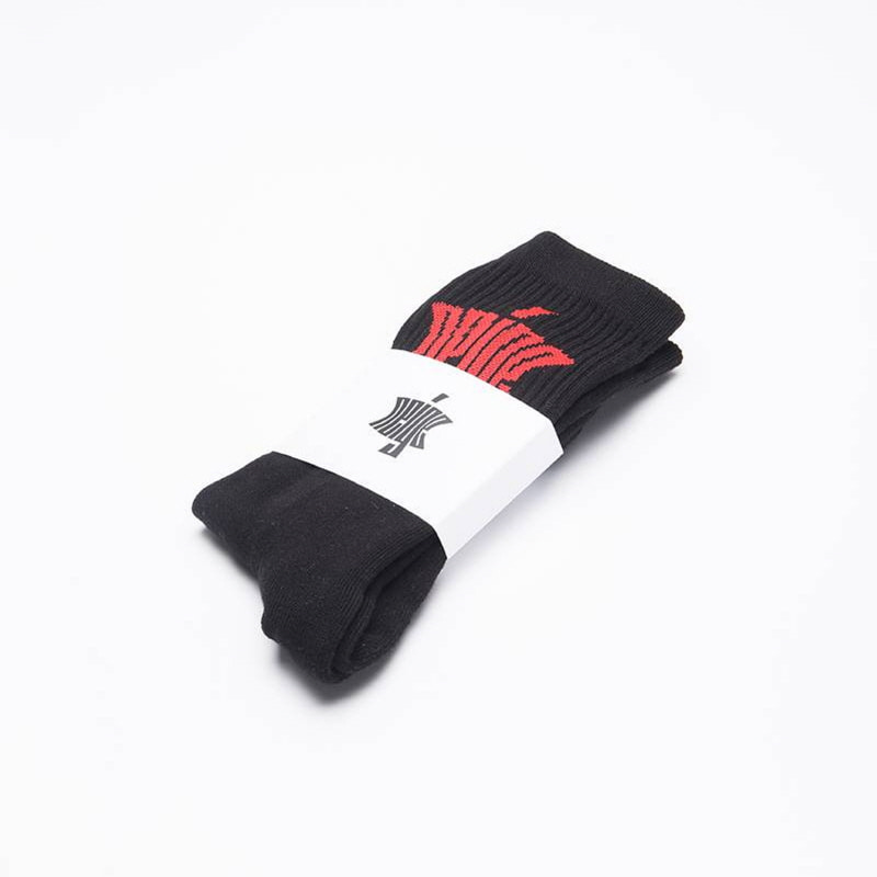 [$ SHOP SALE] [NEIGE] LOGO SOCKS (BLACK)