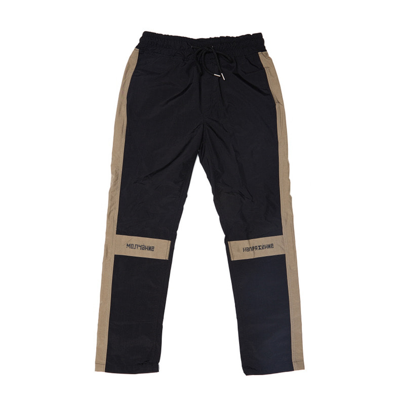 [OVERR] 17FW SCHEME BLACK PANTS