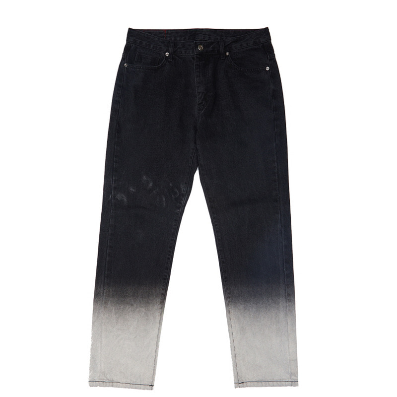 [OVERR] 17FW WASHING BLACK DENIM PANTS