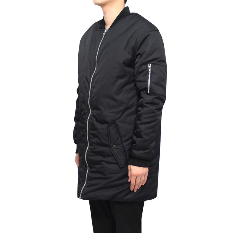 [CLACO] LONG PADDING (BLACK)