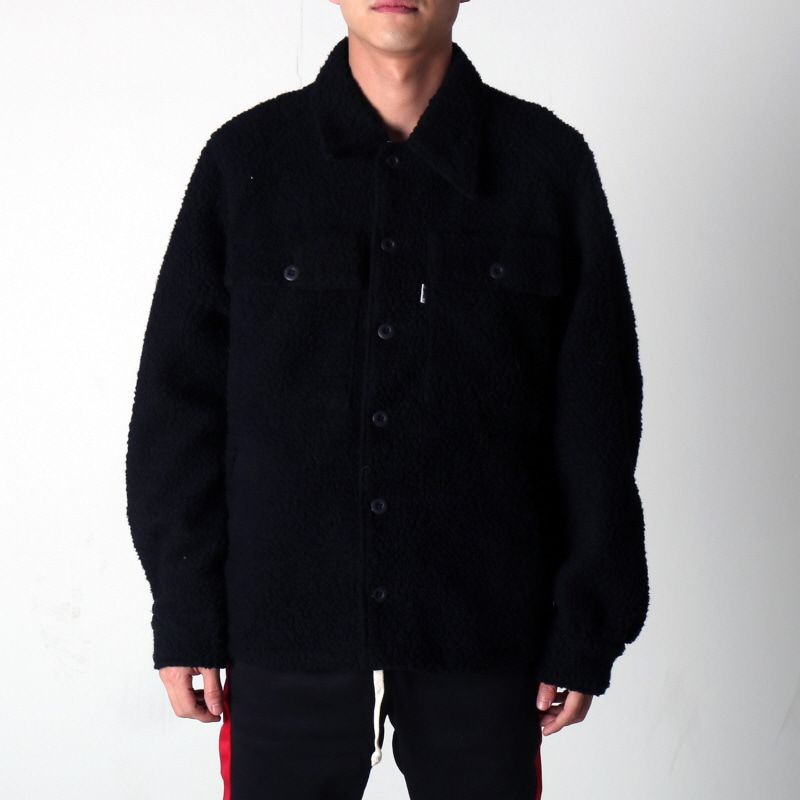 [마지막 상품] [EPTM] SHERPA MILITARY JACKET (BLACK)