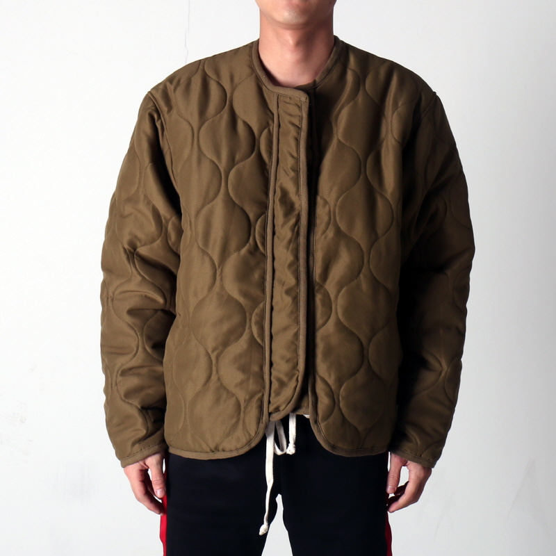 [마지막수량] [EPTM] VINTAGE MILITARY PADDING JACKET (VINTAGE OLIVE)