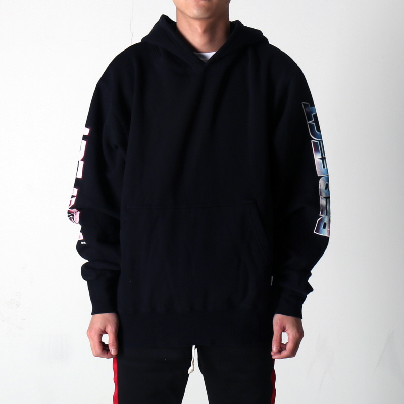[$ SHOP SALE] [EPTM] GRAPHIC SIDE ZIP HOODIE (BLACK)