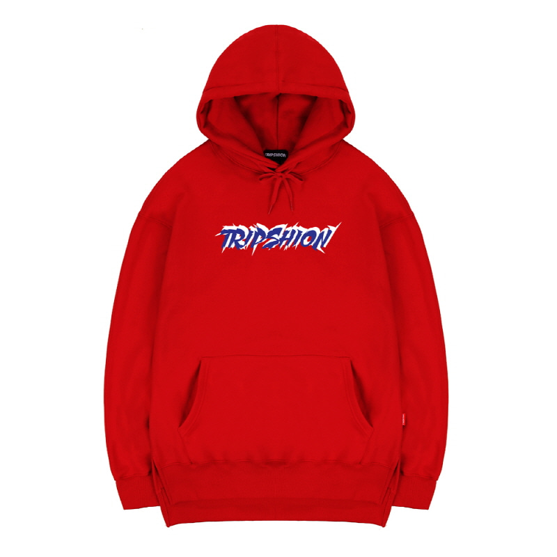 TRIPSHION HOODIE - RED