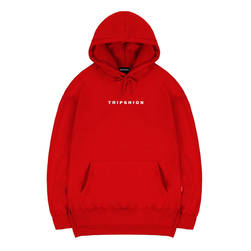 TRIPSHION SPACE HOODIE - RED