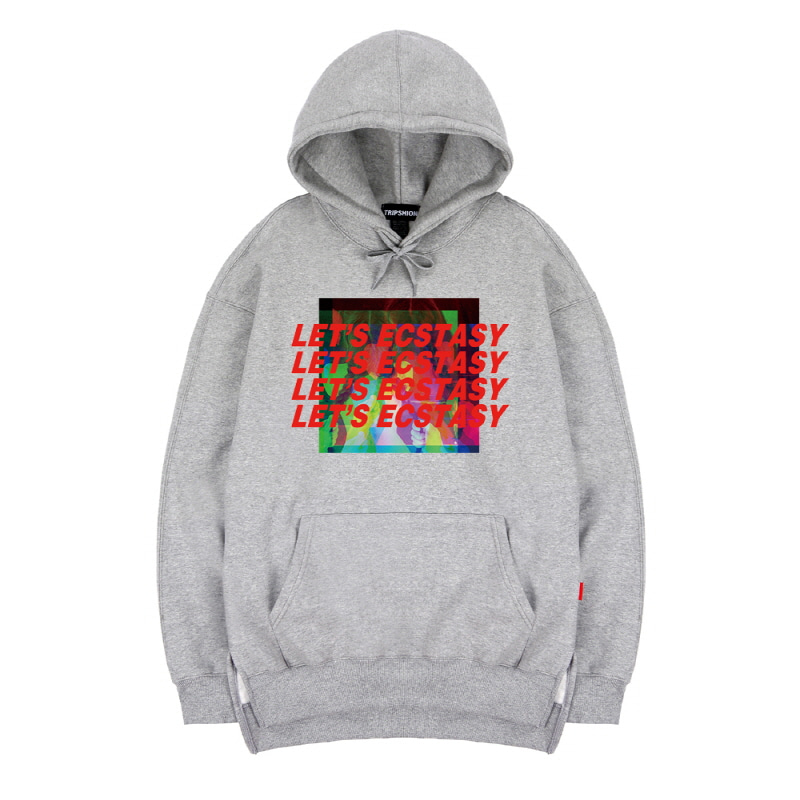 TRIPSHION ECSTASY HOODIE - GRAY