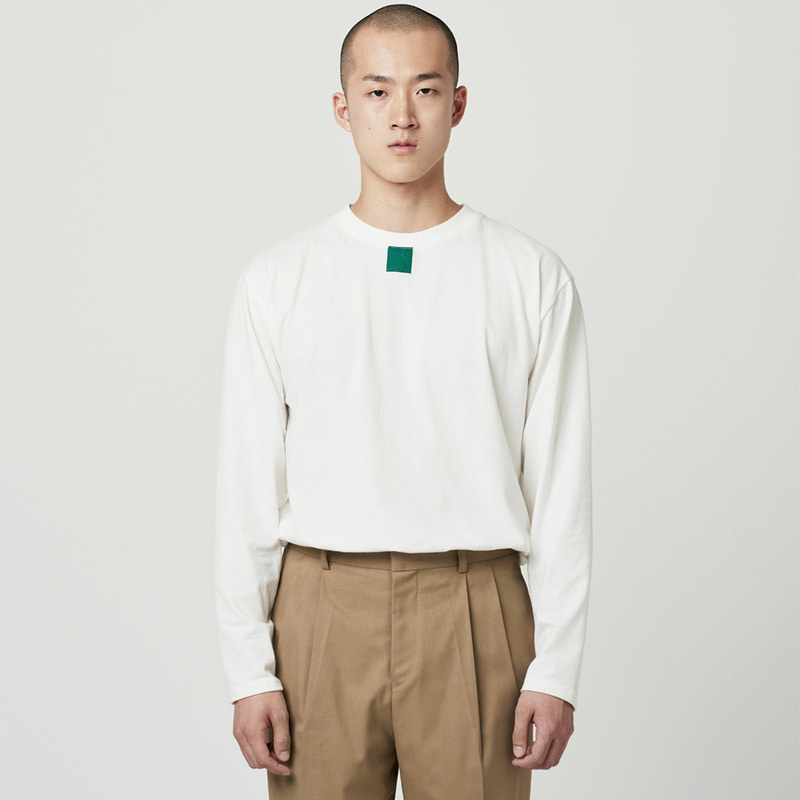 [NOVELLA] SQUARE LONG SLEEVE IVORY