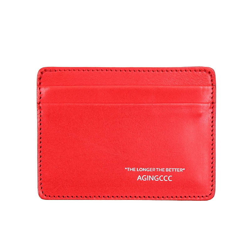 [AGINGCCC] 235# X CARD WALLET-RED