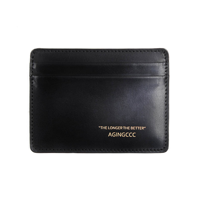 [AGINGCCC] 242# X CARD WALLET-COW HIDE
