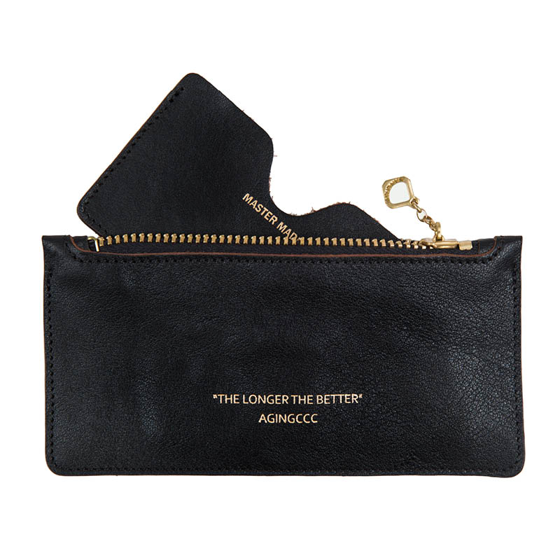 [AGINGCCC] 265# STANDARD CARD POUCH-BLACK