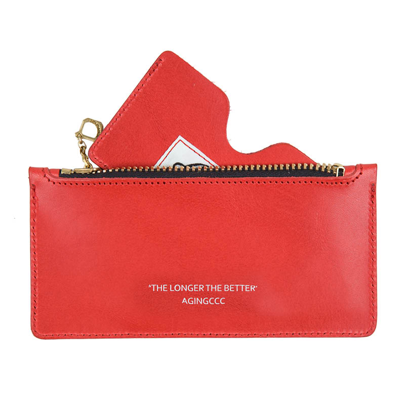 [AGINGCCC] 267# STANDARD CARD POUCH-RED
