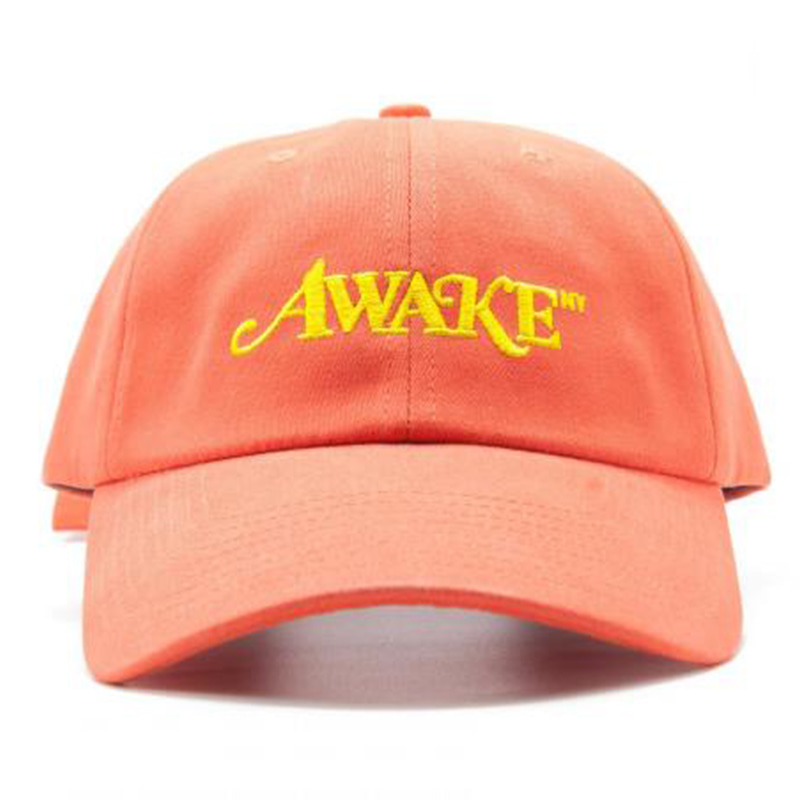 [AWAKE] AWAKE NEW YORK LOGO BALL CAP (ORANGE)