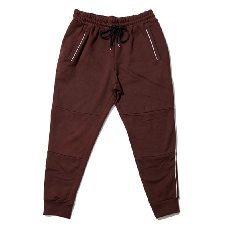 [OVERR] EASSY3. BROWN SCOTCH PIPING PANTS