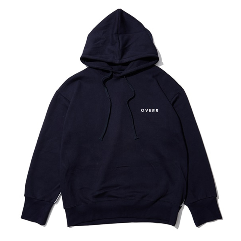 [OVERR] EASSY.3 NAVY SCOTCH PIPING HOODIE