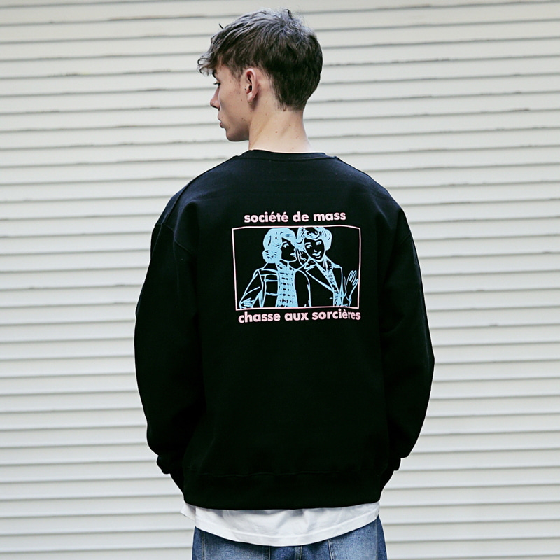 [MASSNOUN] WITCH HUNTER II SWEATSHIRT MFVCR011-BK