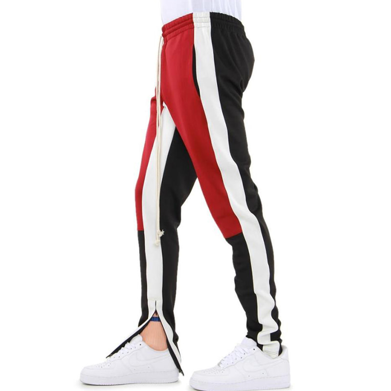 [$ SHOP SALE] [EPTM] COLOR BLOCK TRACK PANTS (RED/WHITE/BLACK)