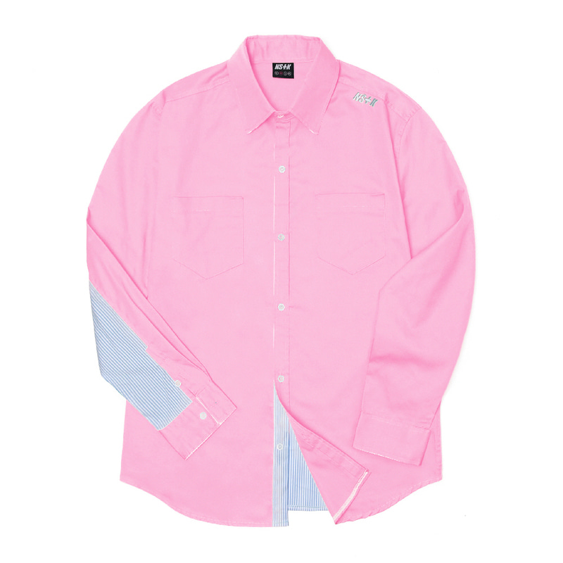 [2018 SUMMER SALE] [NSTK] NELEMENT SHIRTS (PINK)