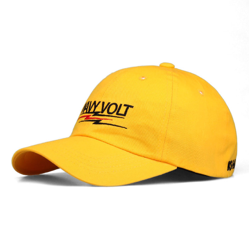 [2018 SUMMER SALE] [NSTK] WAVY VOLT CAP (YELLOW)