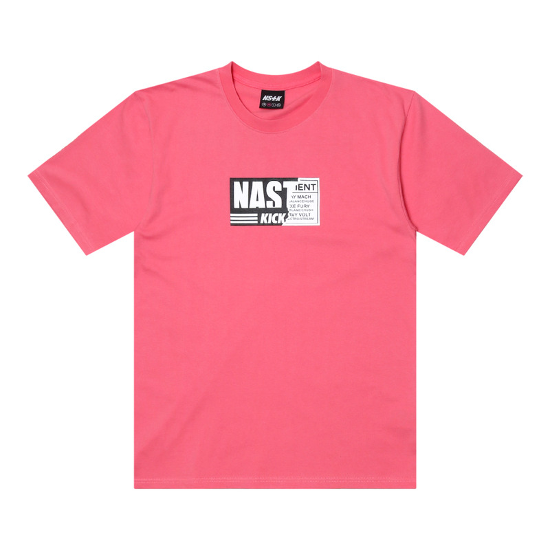 [2018 SUMME SALE] [NSTK] NSTK NELEMENT TEE (PINK)