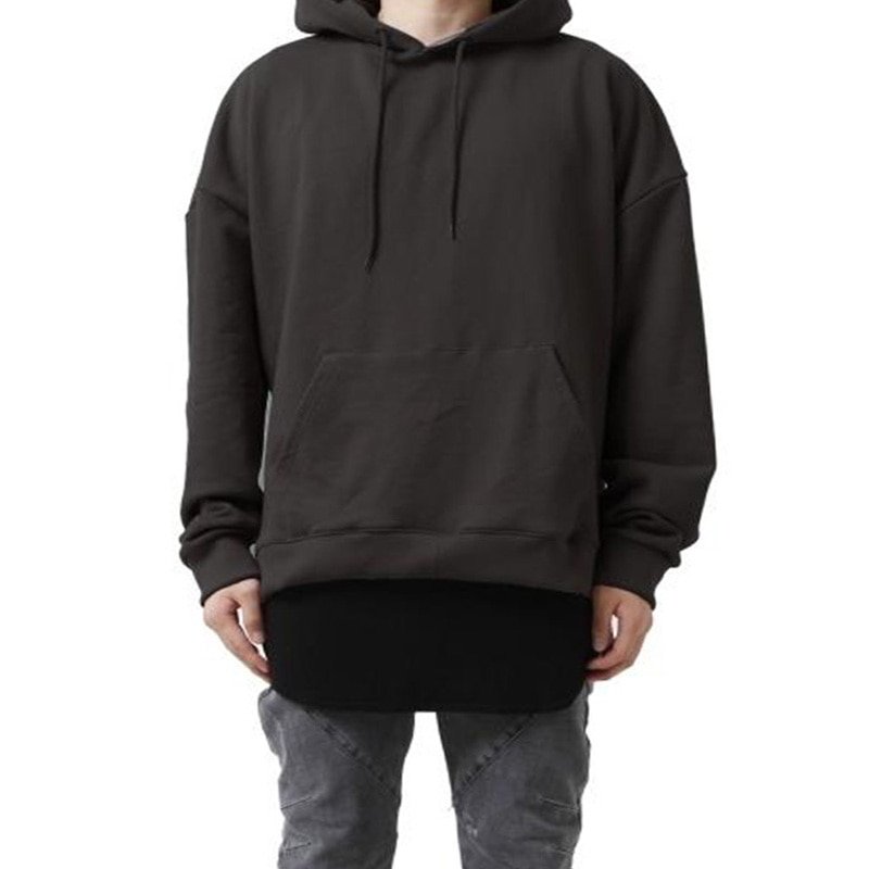[60% OFF FINAL SALE] [FADE6] OVERFIT TERRY HOODIE BLACKISH BROWN