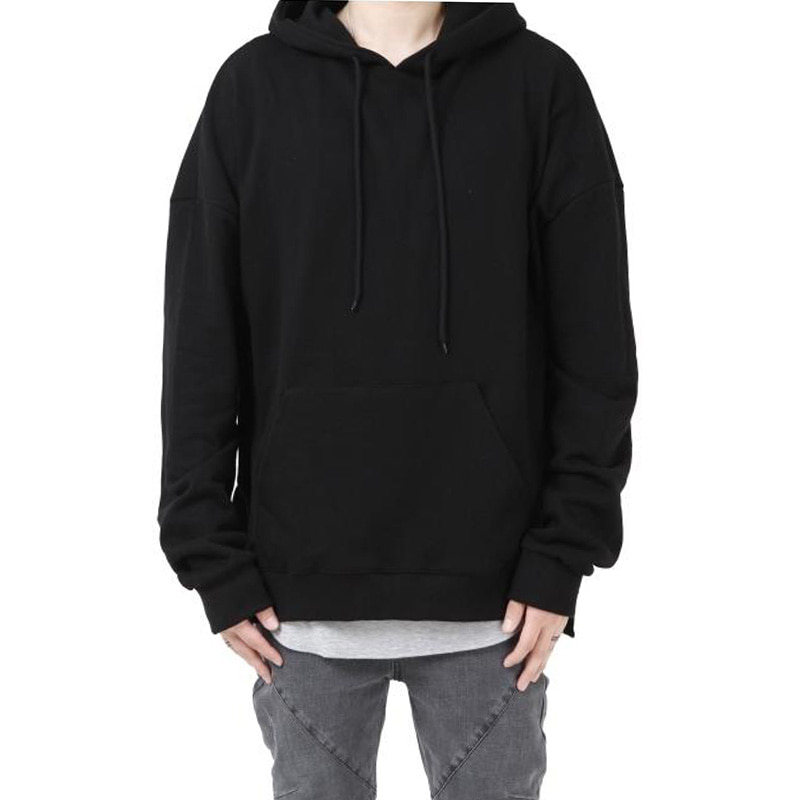 [60% OFF FINAL SALE] [FADE6] OVERFIT TERRY HOODIE BLACKISH BLACK
