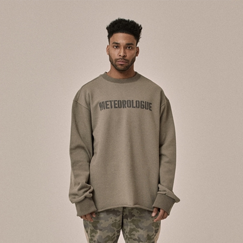 [OVERR] 18SS SENANCOUR KHAKIBROWN SWEATSHIRTS
