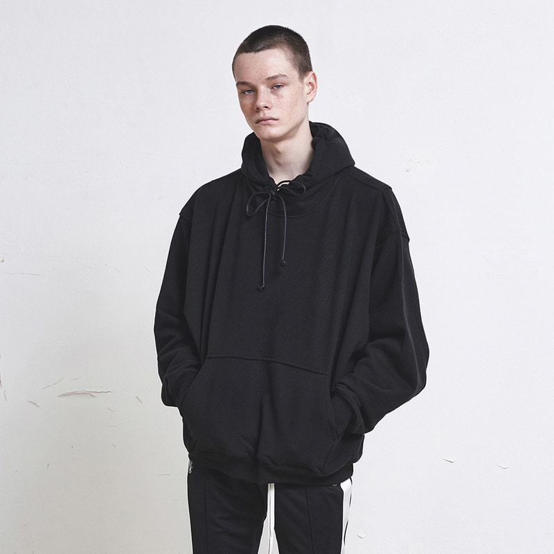 [SUMMER SALE 20% OFF]  [DPRIQUE] OVERSIZED HOODIE (BLACK)