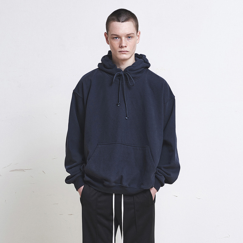 [SUMMER SALE 20% OFF]  [DPRIQUE] OVERSIZED HOODIE (NAVY)