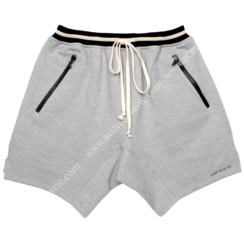[ACME DE LA VIE]  ADLV 18SS TRAINNING SHORT PANTS (GREY) 트레이닝 반바지 그레이