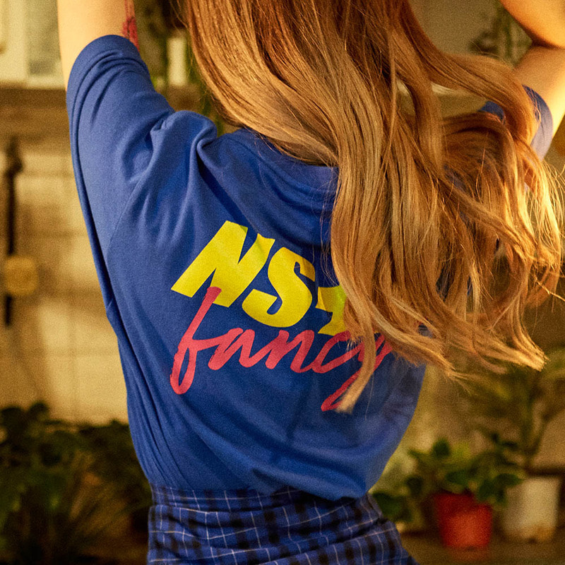 [2018 SUMMER SALE][NSTK] NASTY FANCY TEE (BLUE)