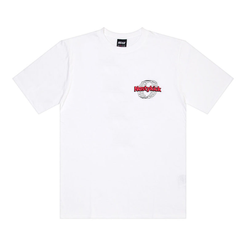 [2018 SUMMER SALE] [NSTK] NSTK ROUNDED TEE (WHT)
