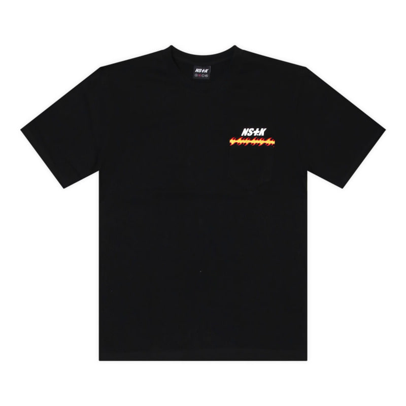 [2018 SUMMER SALE] [NSTK] FLAME FURY TEE (BLK)