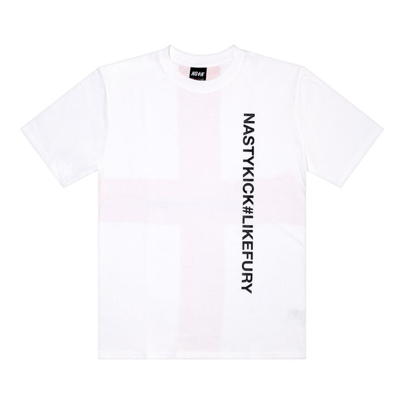 [2018 SUMMER SALE] [NSTK] BLEMISH ROYAL TEE (WHT)