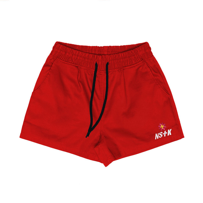 [2018 SUMMER SALE][NSTK] NASTY FANCY SHORT PANTS (RED)