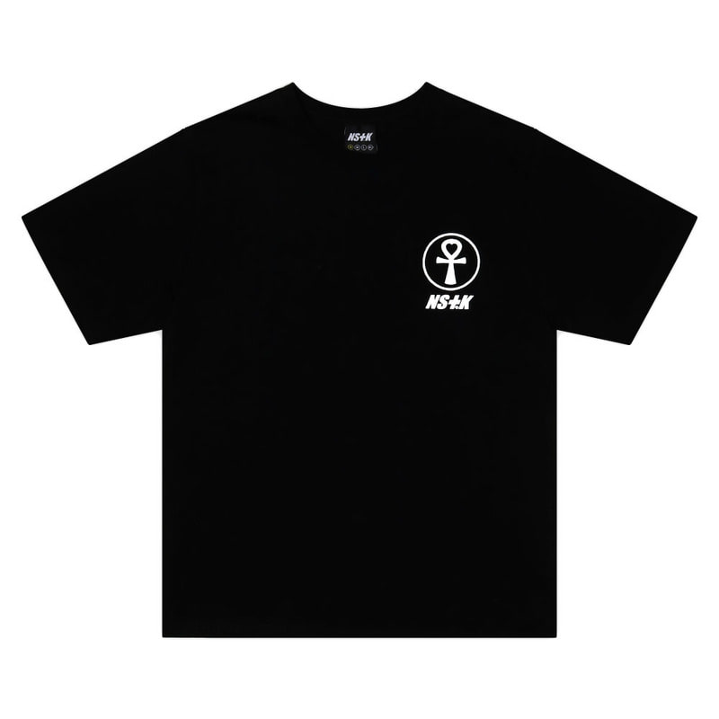 [2018 SUMMER SALE][NSTK] FANCY FLOWER TEE (BLK)
