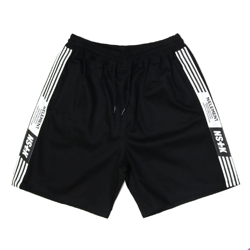 [2018 SUMMER SALE] [NSTK] NLMT LINE SHORT PANTS (BLK)