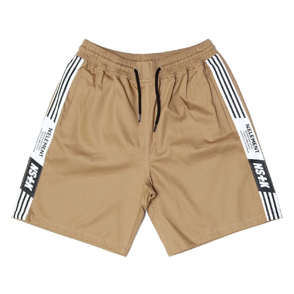 [2018 SUMMER SALE] [NSTK] NLMT LINE SHORT PANTS (BEIGE)