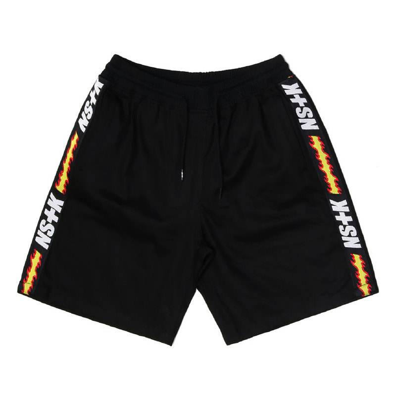 [2018 SUMMER SALE][NSTK] FLAME FURY SHORTPANTS (BLK)