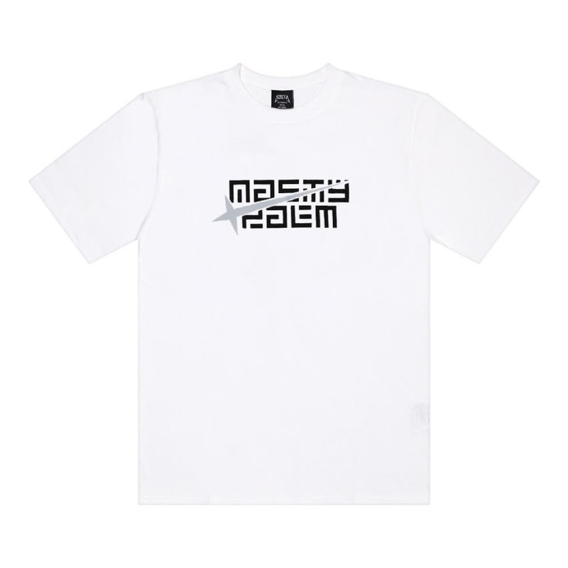 [2018 SUMMER SALE][NYPM] METEOR LOGO TEE (WHT)