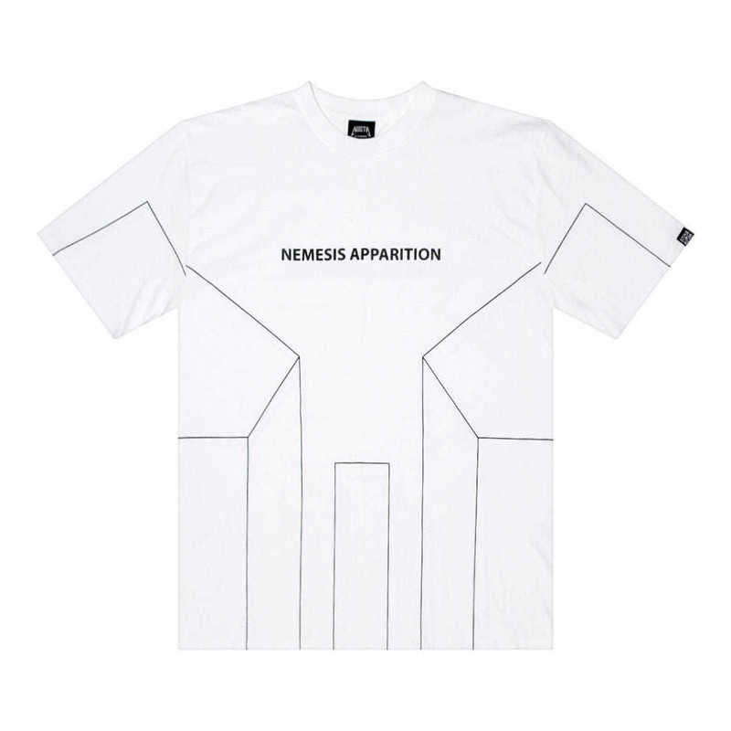 [2018 SUMMER SALE] [NYPM] DIMENSIONAL TEE (WHT)