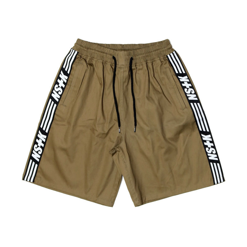 [2018 SUMMER SALE]  [NSTK] NSTK LINE SHORTPANTS (KHAKI)