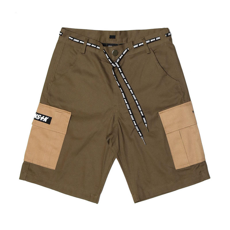 [2018 SUMMER SALE]  [NSTK] NLMT CARGO SHORT PANTS (KHAKI)